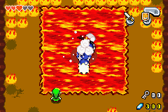 The Legend of Zelda - The Minish Cap - POP goes the snail snake thing - User Screenshot