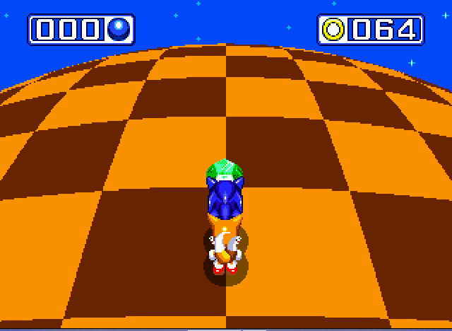 Sonic and Knuckles & Sonic 3 - chaos emerald 1 - User Screenshot
