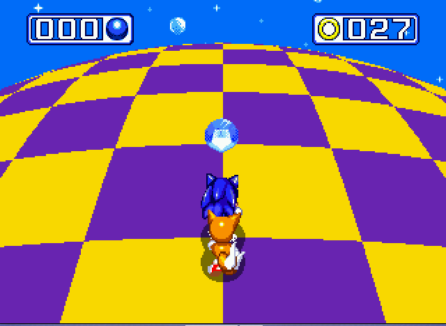 Sonic and Knuckles & Sonic 3 - chaos emerald no.6 - User Screenshot
