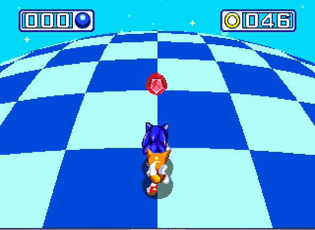 Sonic and Knuckles & Sonic 3 - chaos emerald 7 - User Screenshot