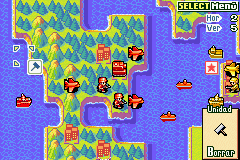 Advance Wars 2 - Black Hole Rising - North and South America and Greenland - User Screenshot