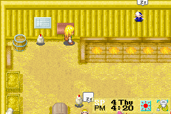 Harvest Moon - More Friends of Mineral Town - Hey! Get down from there! - User Screenshot