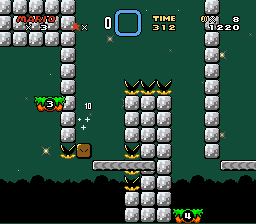 Kaizo Mario World - INVISIBLE COIN BLOCK HAX D: - User Screenshot