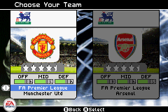 FIFA Soccer 06 - Character Select  - Team selection - User Screenshot