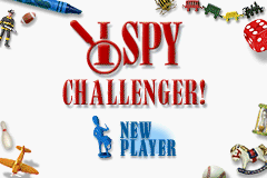 I Spy Challenger! - Introduction  -  - User Screenshot