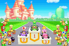 Mario Kart - Super Circuit - Yoshi Wins! - User Screenshot