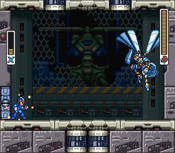Mega Man X3 - Blast Hornet - User Screenshot