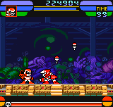 Rockman - Battle & Fighters - Crash Man - User Screenshot