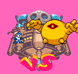 Rockman - Battle & Fighters - Yellow Devil - User Screenshot