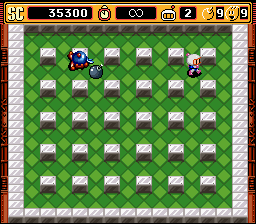 "Super Bomberman 2 - ""Y-y-you ... s-suck"" - User Screenshot"