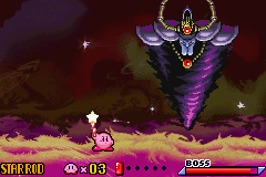 Kirby - Nightmare in Dream Land - last boss - User Screenshot