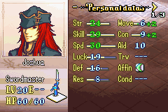 Fire Emblem - The Sacred Stones - Now this is what joshua should look like :) - User Screenshot