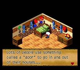 Super Mario RPG - Legend of the Seven Stars - Misc  - Such sarcasm. - User Screenshot