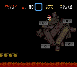 Super Mario World (hack) - level 5 ! - User Screenshot