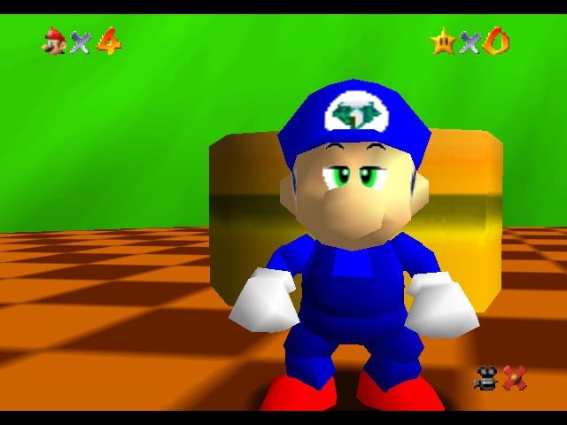 Super Sonic 64 - Introduction  -  - User Screenshot