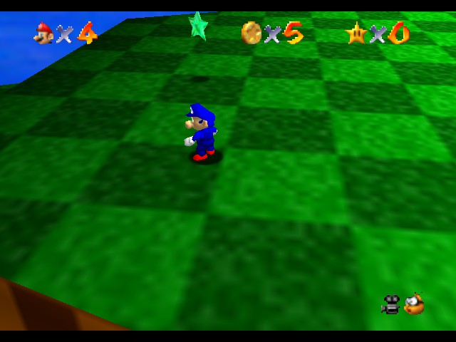 Super Sonic 64 - Level  -  - User Screenshot