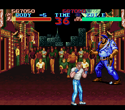 Final Fight - Level  - bad cop - User Screenshot