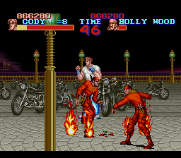 Final Fight - Cut-Scene  - dumb holly wood - User Screenshot