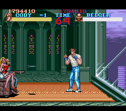 Final Fight - Cut-Scene  - final boss - User Screenshot