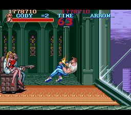 Final Fight - Level  - final boss - User Screenshot