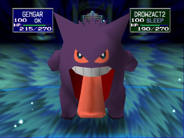 Pokemon Stadium - Battle  - Tired yet? - User Screenshot