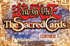 Yu-Gi-Oh! - The Sacred Cards - Game Start - User Screenshot