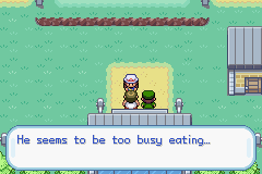Pokemon Fire Red - Generations (v1.4) - Location  - oh no fatty boy getting hungry every day - User Screenshot
