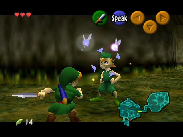 Legend of Zelda, The - Ocarina of Time - Location  - Prepare to DIE!!! - User Screenshot