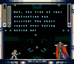 Mega Man X - ur puppy went boom sigma sorry - User Screenshot