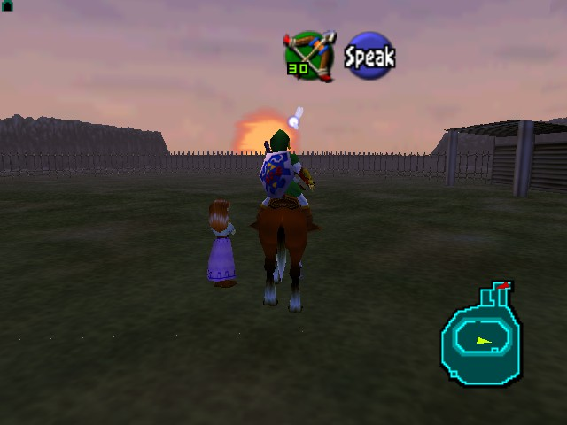 Legend of Zelda, The - Ocarina of Time - don