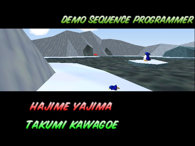 Mario Kart 64 - Ending  - Penguins. - User Screenshot