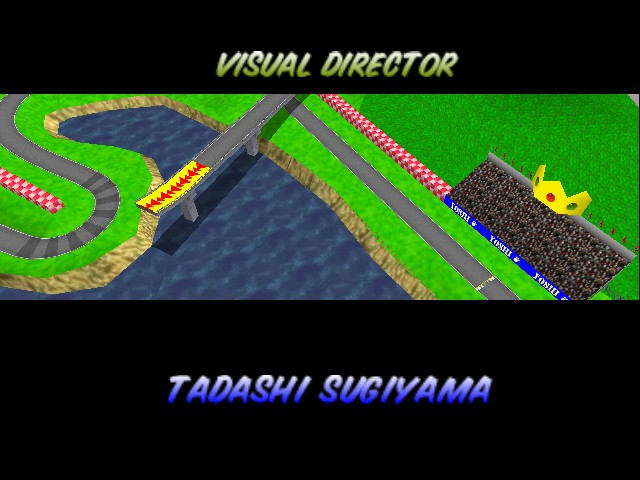 Mario Kart 64 - Ending  - Royal Raceway. - User Screenshot