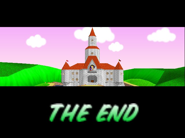 Mario Kart 64 - Ending  - See you next tiime! - User Screenshot