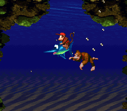 Donkey Kong Country - Diddy, Donkey and Enguarde! - User Screenshot