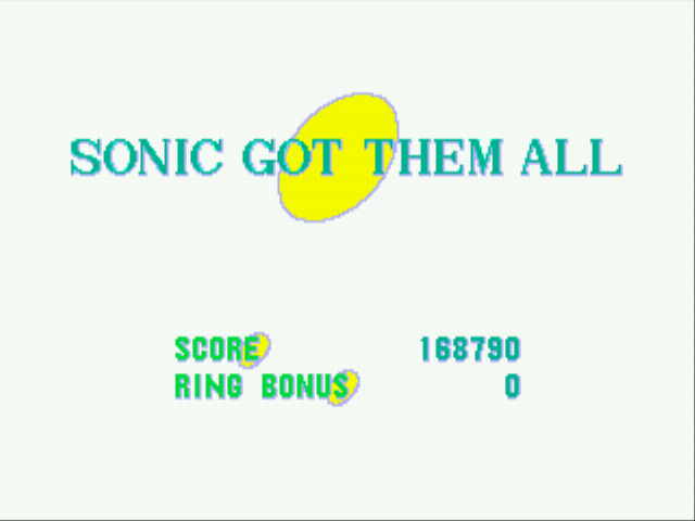 Sonic the Hedgehog - yea all emeralds - User Screenshot