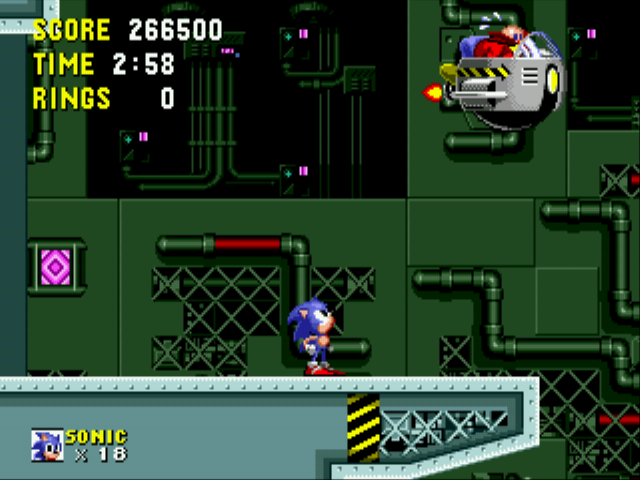 Sonic the Hedgehog - now wheres he off to? - User Screenshot