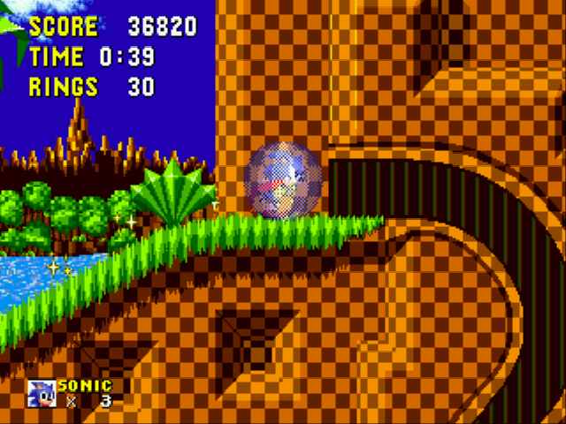 Sonic the Hedgehog - Level Green Hill Zone -  - User Screenshot