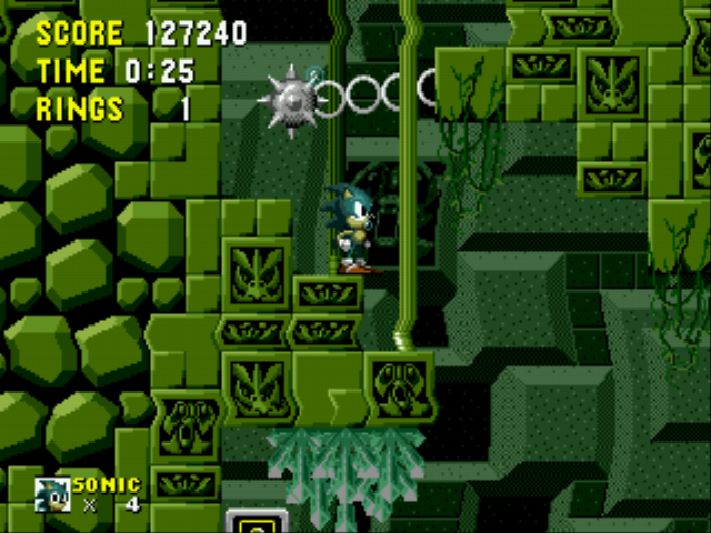 Sonic the Hedgehog - Level  -  - User Screenshot