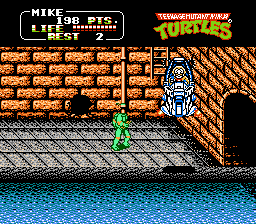 Teenage Mutant Ninja Turtles II - Misc Boss -  - User Screenshot