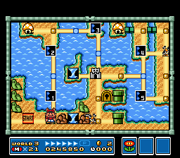 Super Mario All-Stars  Super Mario World - Level  - World 3 - User Screenshot