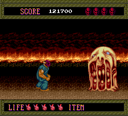 Splatterhouse - Misc Boss -  - User Screenshot