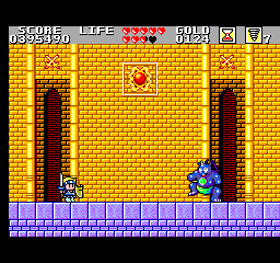 Wonder Boy in Monster Land - Misc Boss -  - User Screenshot
