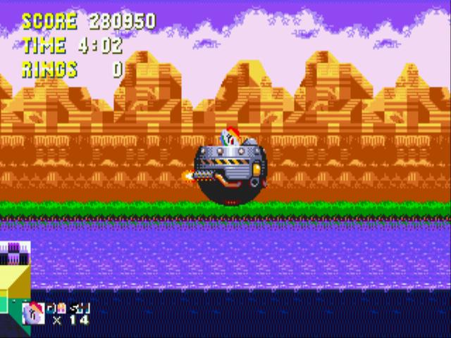 Sonic 3 & Rainbow Dash - Misc - Wow,that