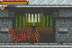 Castlevania HOD - Revenge of the Findesiecle - Boss 1, bat company - User Screenshot