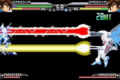 Mobile Suit Gundam Seed - Battle Assault - Battle  - Freedom nailed his lazer! - User Screenshot