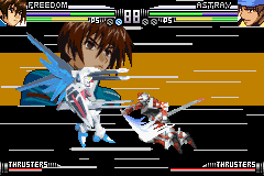 Mobile Suit Gundam Seed - Battle Assault - Battle  - Clash of Gundams! - User Screenshot