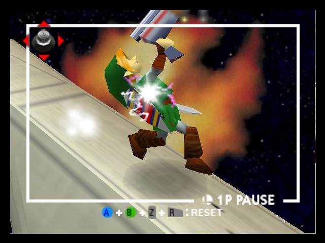 Super Smash Bros. - Battle  - Link with a Gun - User Screenshot