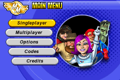 Micro Machines - Menus Game Select -  - User Screenshot