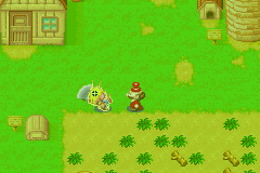 Harvest Moon - More Friends of Mineral Town - You can hit him as many times as you want! - User Screenshot