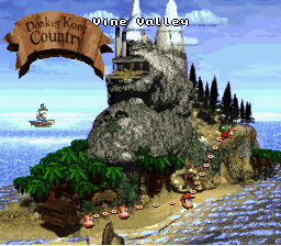Donkey Kong Country - the island - User Screenshot